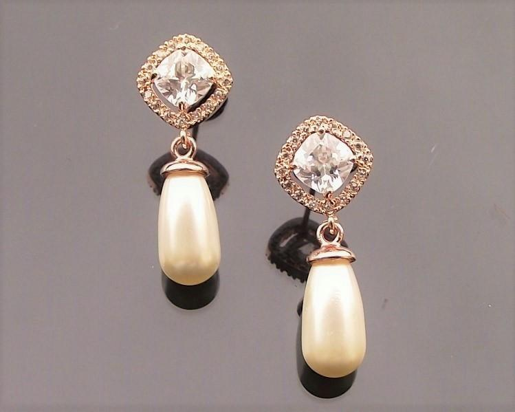 Fifi Yellow Gold Earrings 2