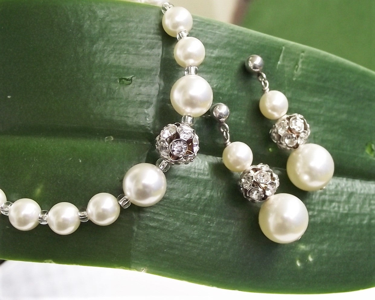 Loretta, Bridesmaids Bracelet & Earring Set