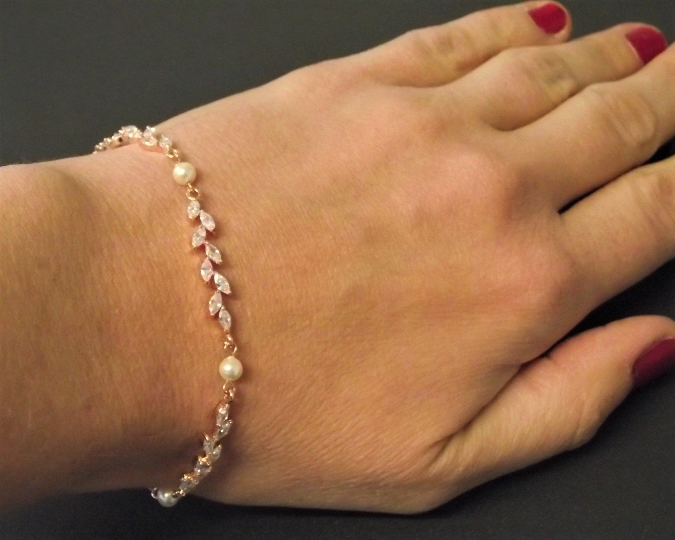 Rose Gold Shelly Bracelet 4