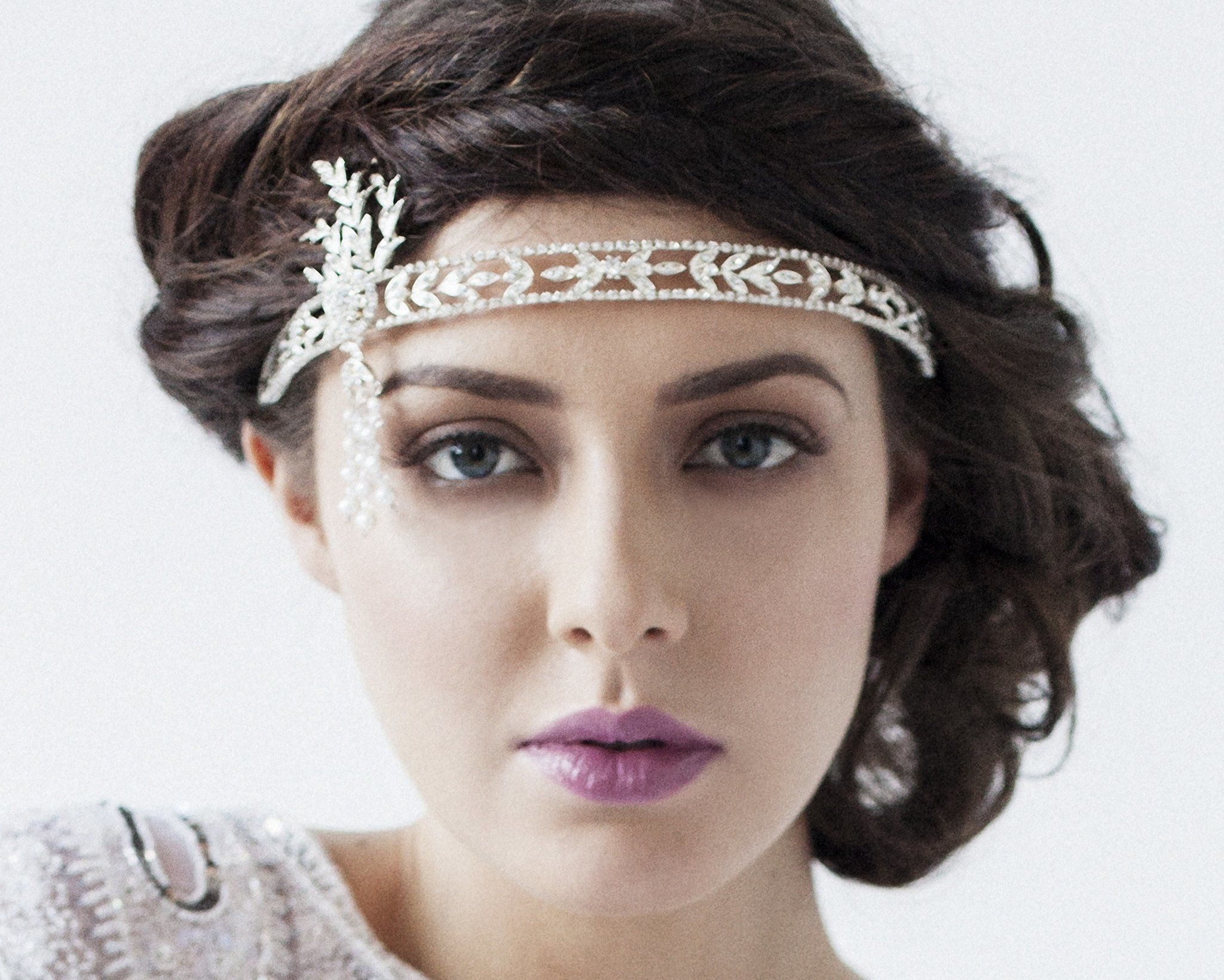 Vintage Side Headpieces - The Buchanan Headpiece/ Brow Band - As Seen On TV Ireland AM