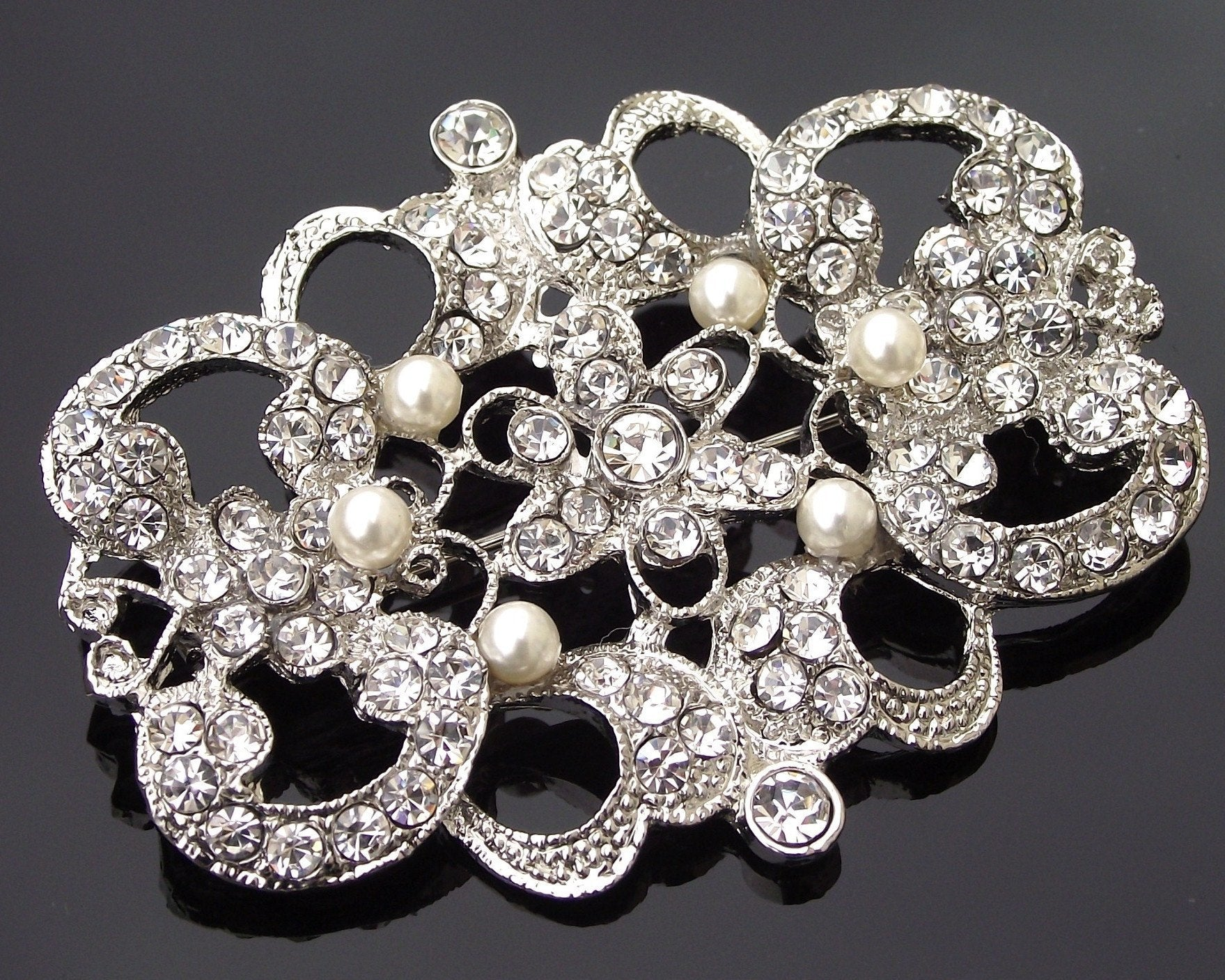 wedding brooches jules bridal jewellery