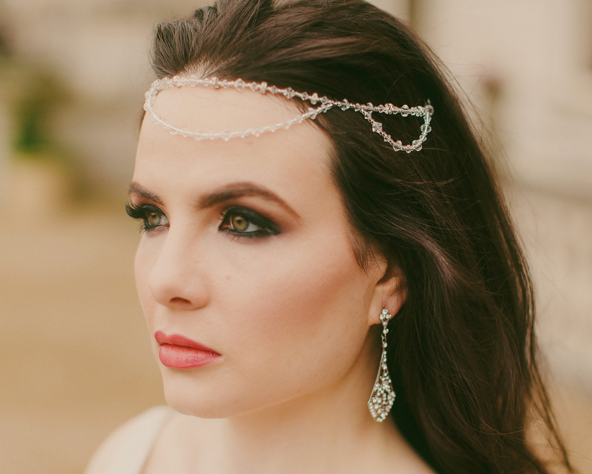 Wedding Hair Combs - 2014 Collection, Swarovski Crystal Headband, St.Tropez