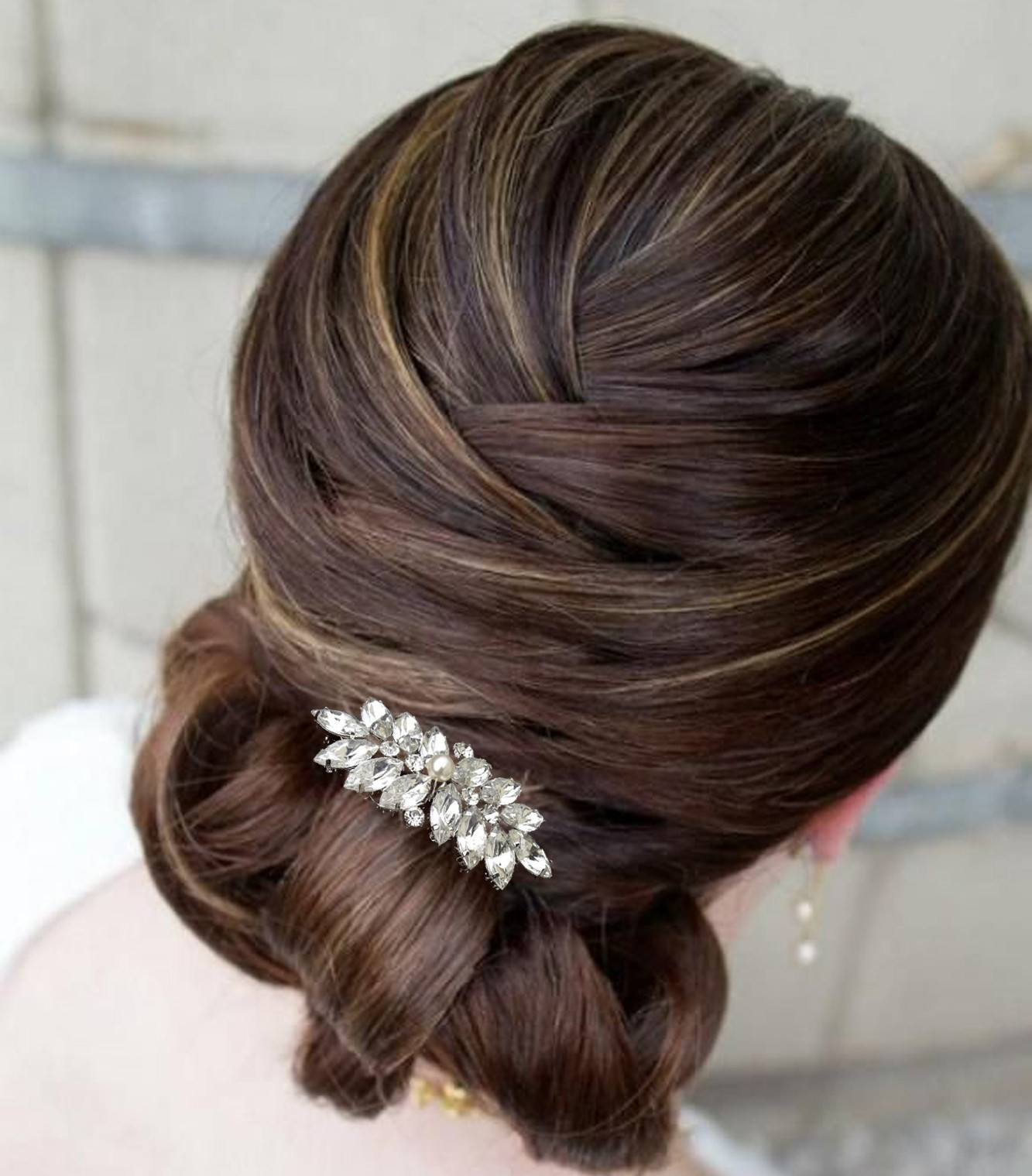 hair comb styles wedding hair combs jules bridal jewellery 4408 | wedding hair combs vintage inspired style wedding comb lucia mini 3