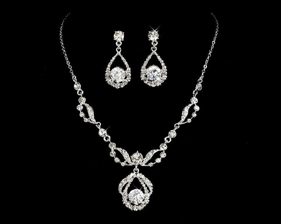 Jewelry & Watches Necklace And Earrings Set