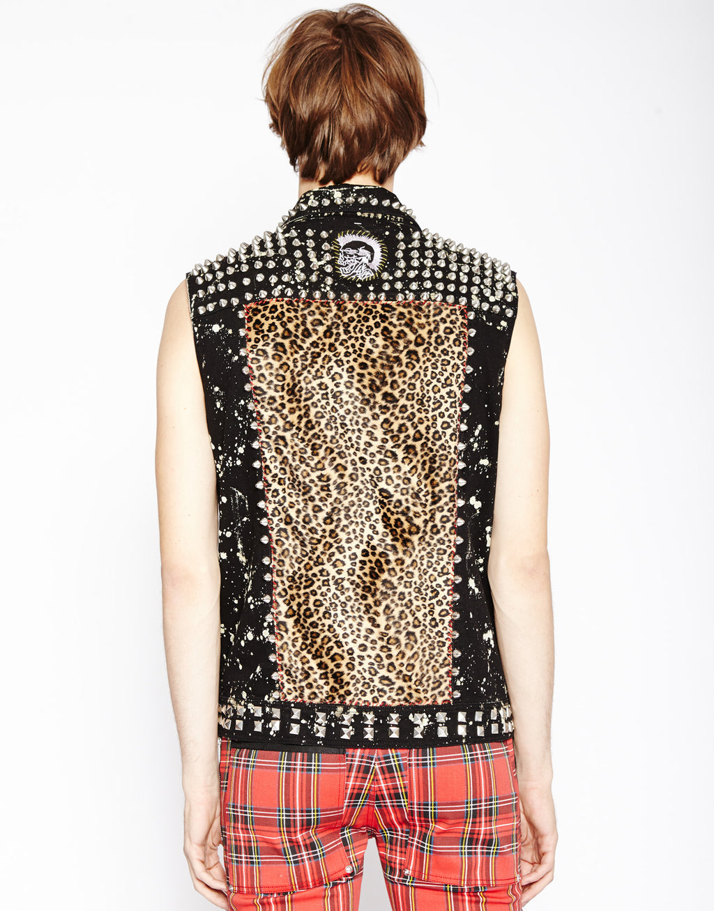 Tripp NYC Men's Hand Studded Vest
