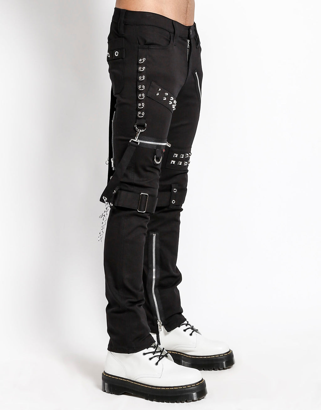Tripp NYC Men's Studded Bondage Pants