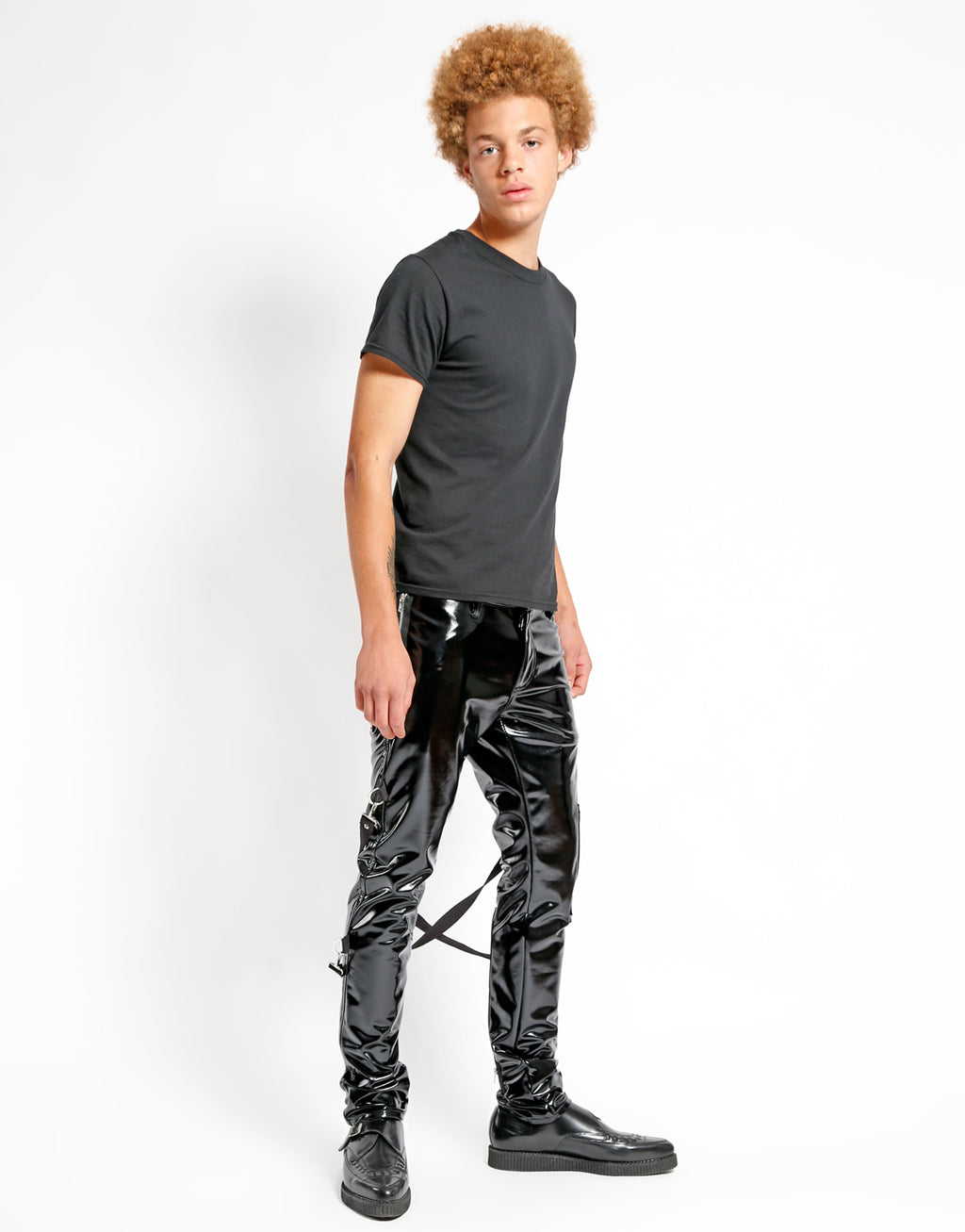 Tripp NYC Men's Vinyl Chaos Pants