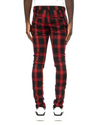 Trinity Kays Kulture Beira Plaid Pants in Red/Black