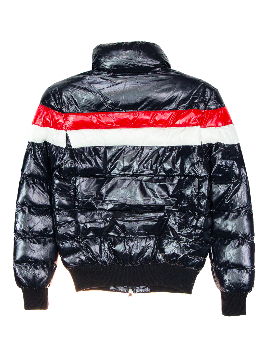 Trinity Kays Kulture Chest Stripe Shiny Bubble Jacket