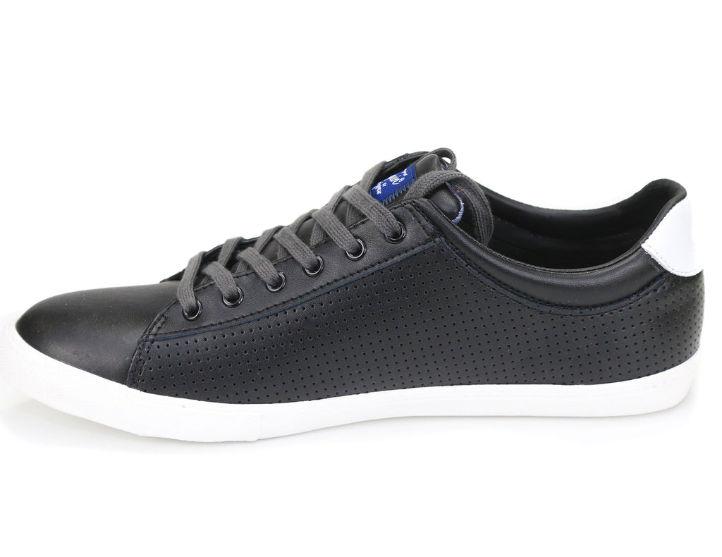 Original Penguin Men's Dan Leather Perforated Sneakers