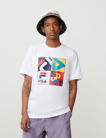Fila Men's Davi Graphic T Shirt