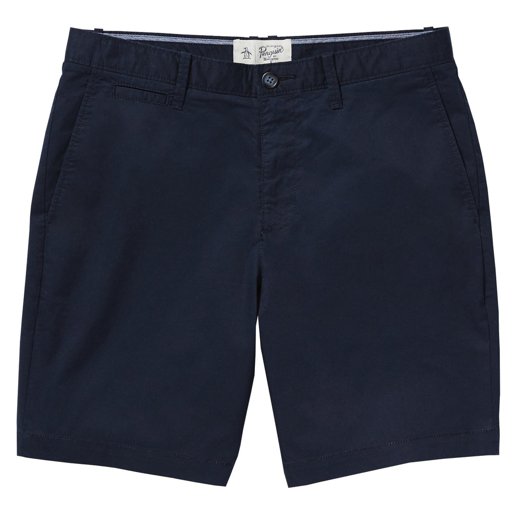 Original Penguin Men's P55 8 Inch Stretch Slim Short