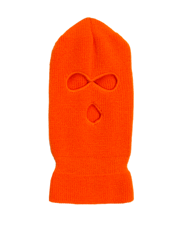 Trinity Kays Kulture 3 Hole Knit Ski Mask - Hot Pink