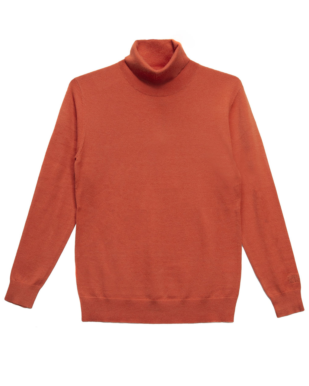 Trinity Kays Kulture Logo Turtleneck Sweater - Orange