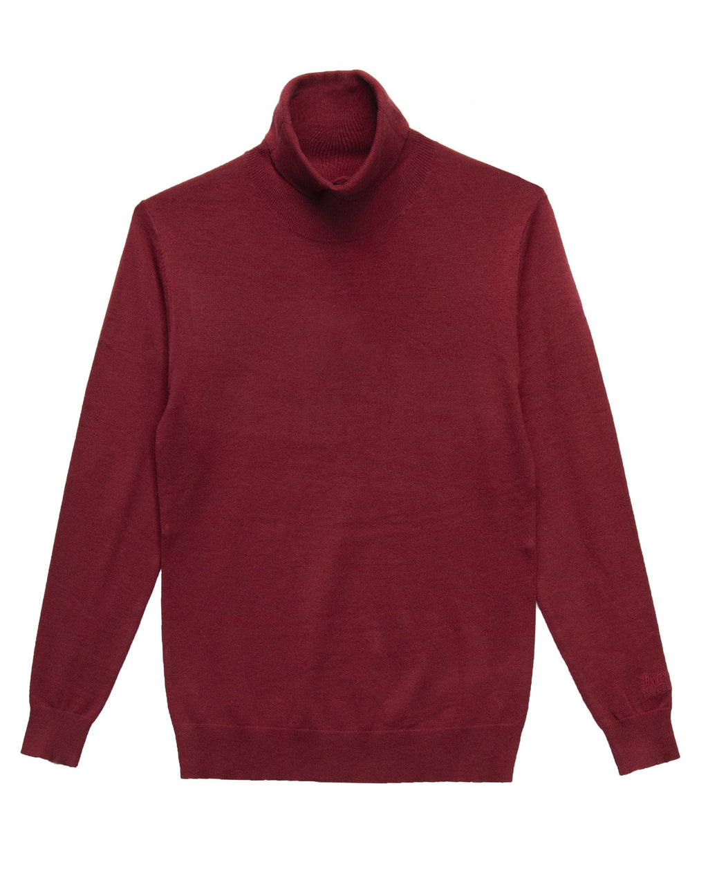 Trinity Kays Kulture Logo Turtleneck Sweater - Wine
