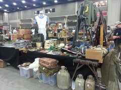 OVMS Show of Shows Militaria Show - War's End Shop Setup