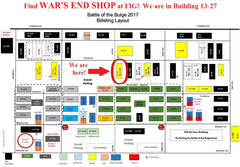 Fort Indiantown Gap 2017 Map - War's End Shop