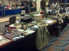 MAX Militaria Show - War's End Shop Setup