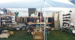 Rockford WWII Re-enactment - War's End Shop Vendor Setup
