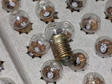NOS 6V Flashlight Bulbs