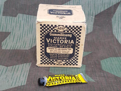 1930s / 1940s WWII German Victoria Rubber Cement for Bicycle Tires