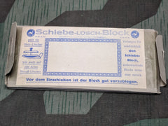 1930s WWII era German Schiebe-Lösch-Block Blotting Paper Replacements