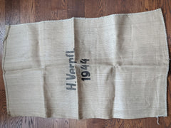 1944 German Paper Burlap Ration Sack
