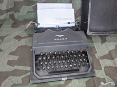 Adler Typewriter Working AS-IS