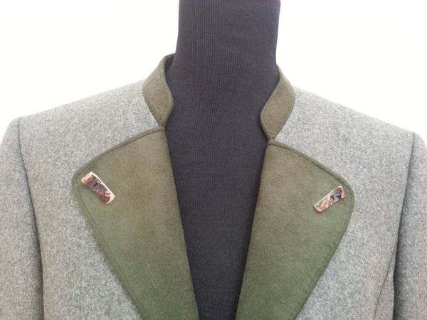 "Feld Grau Trachten Traditional Jacket <br> (B-40"" W-38"")"