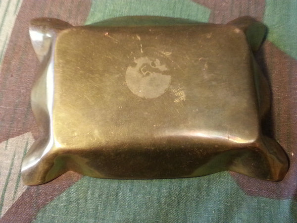 WWI German Belt Buckle Ashtray