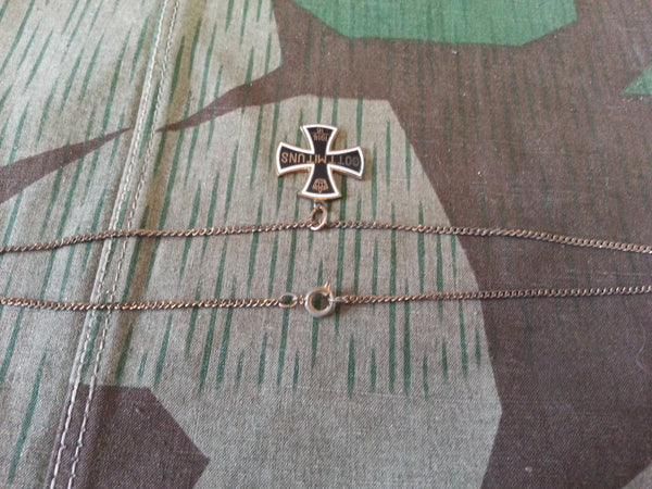 Gott Mit Uns Iron Cross Necklace
