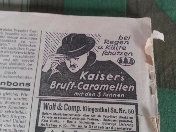 Kaisers Brust Caramellen Cough Drop Tin