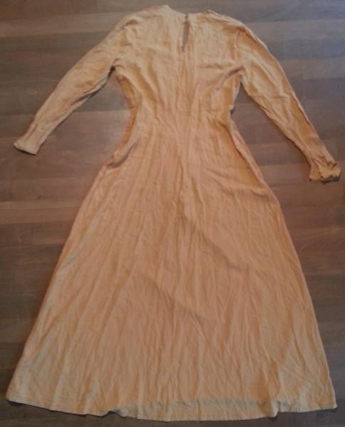 "1945 DuBarry Evening Gown <br>(B-35"" W-25"" H-35"")"