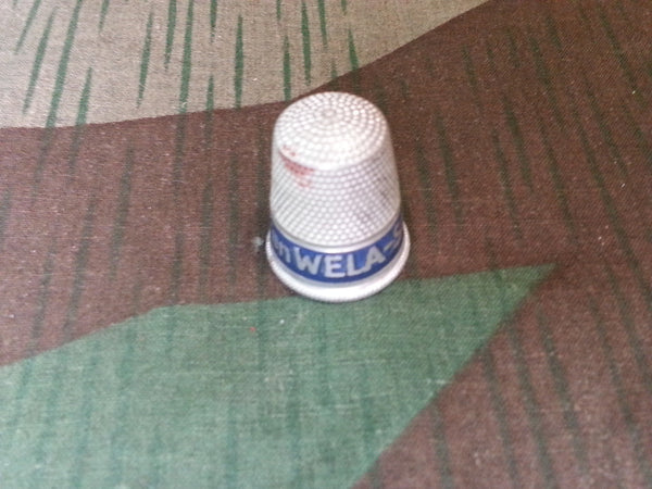 Vintage German Wela Soup Advertising Thimble