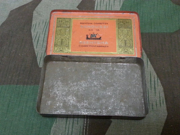 Small Reemtsma Senoussi Cigarette Tin