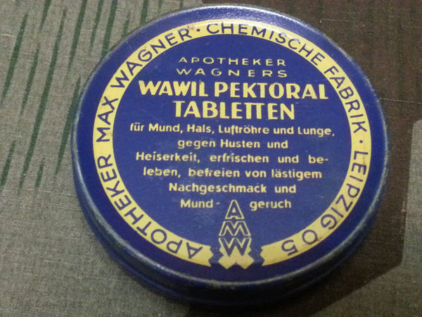 Wawil Pektoral Tabletten Cough Drops Tin
