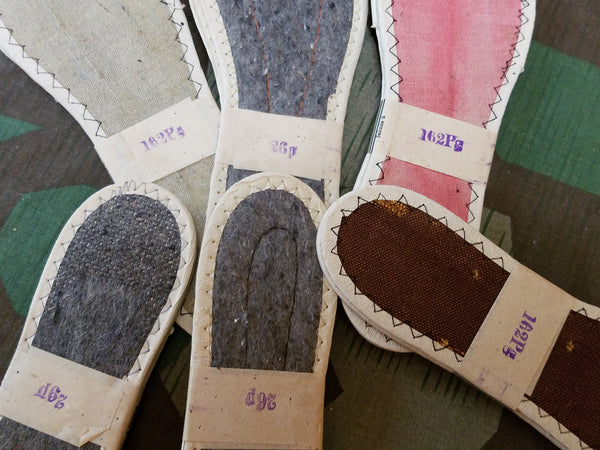 German Ladies Shoe Insoles New Old Stock (Multiple Sizes)