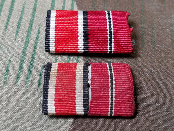 "Original Iron Cross and Eastern Front ""Frozen Meat"" Ribbon Bar"