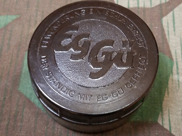 Eg-gu Shoe Polish Glass/Bakelite