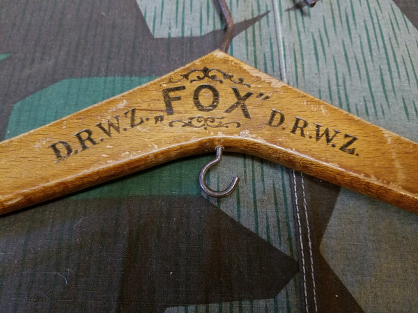 Fox D.R.W.Z. Wooden Hanger