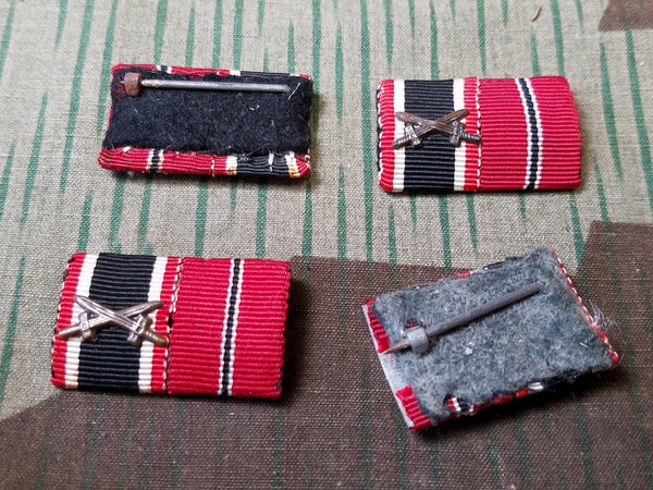 "Original War Merit Cross and Eastern Front ""Frozen Meat"" Ribbon Bar"