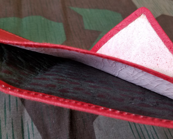 Red Pressed Paper Wallet
