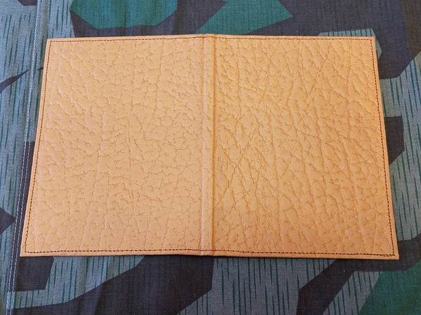 Tan Pressed Paper Wallet