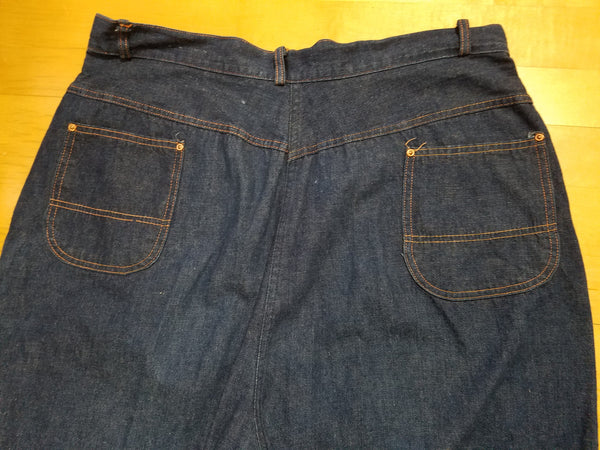 "Side Zipper Jeans (37""-38"" waist)"