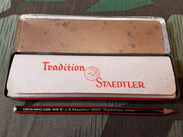 Staedtler Pencil Box with 5 Pencils