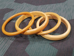 Vintage Butterscotch Bakelite Bangle Bracelet Lot