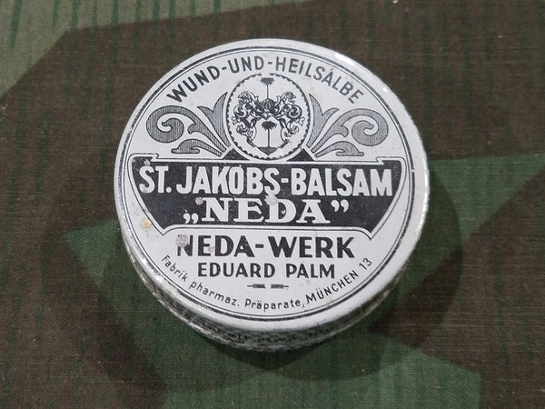 WWII German Medicated Ointment for Small Wounds Tin (Price in RM)