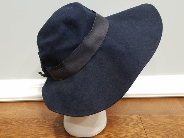Dark Blue Hat