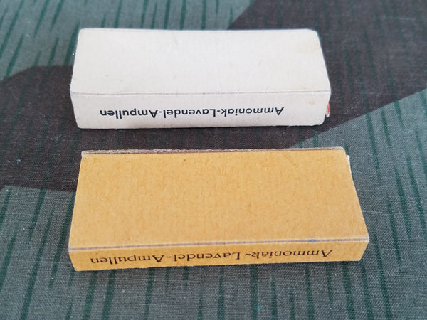 Two Boxes Ammoniak-Lavendel-Ampullen Smelling Salts