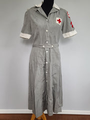 WWII American Red Cross Nurse Uniform Women's Dress